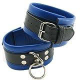 Ankle Cuffs Blk/blue