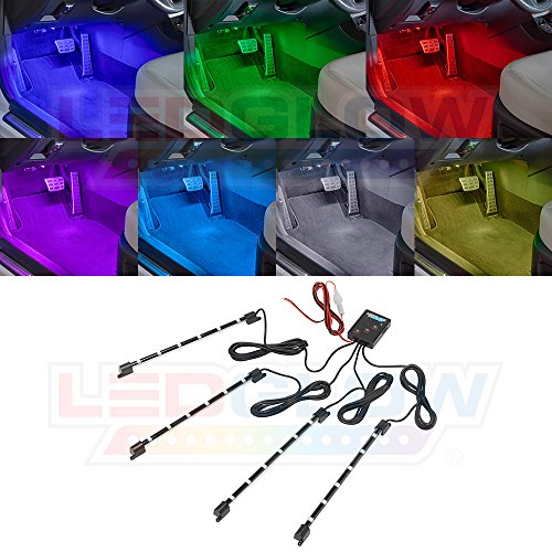 ledglow-4-piece-7-color-led-interior-underdash-lighting-kit