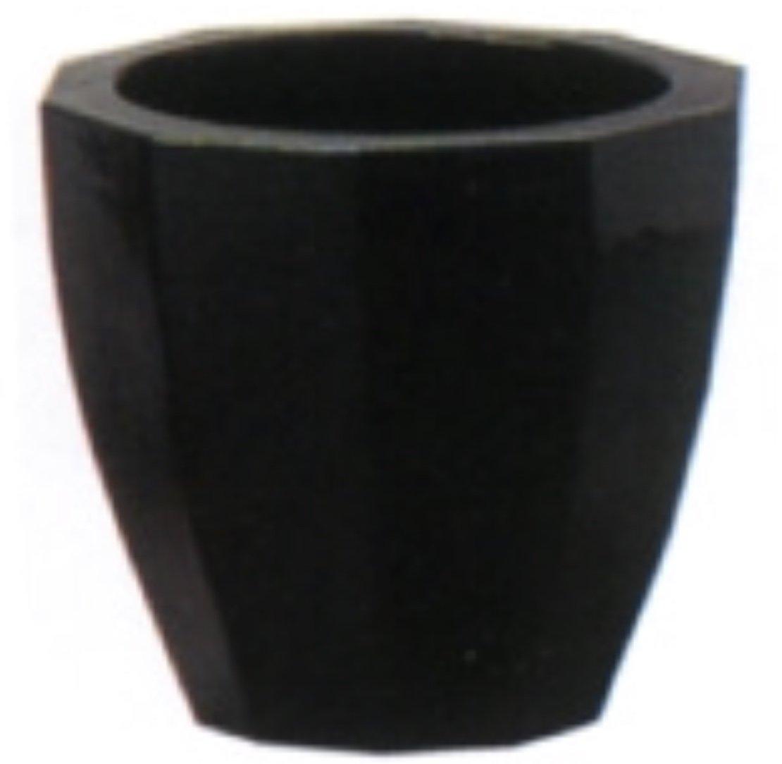 アドミナ 鉢カバー 10号用 47cm ブラック【ネオモダン N-12】 陶器 信楽焼き 穴なし おしゃれ B079W5MHLG 10号|ブラック ブラック 10号