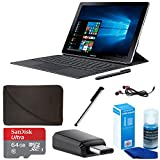 Samsung 10.6'' Galaxy Book 10 Multi-Touch 2-in-1 Notebook (SM-W620NZKAXAR) Bundle