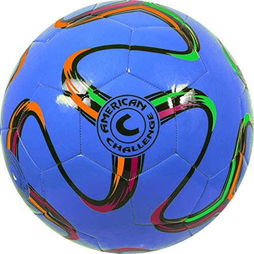 American Challenge Brasilia Soccer Ball (Blueberry, 4) -