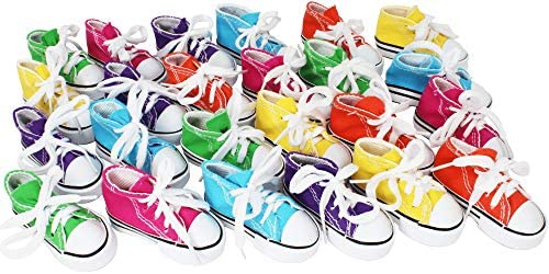 Bonka Bird Toys 24 Mini Sneakers Foot