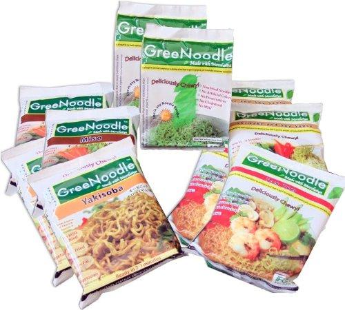 GreeNoodle Sampling Kit (2 of each) by GreeNoodle