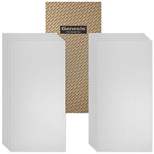 Genesis - Classic Pro White 2x4 Ceiling Tiles 4 mm thick (carton of 10)