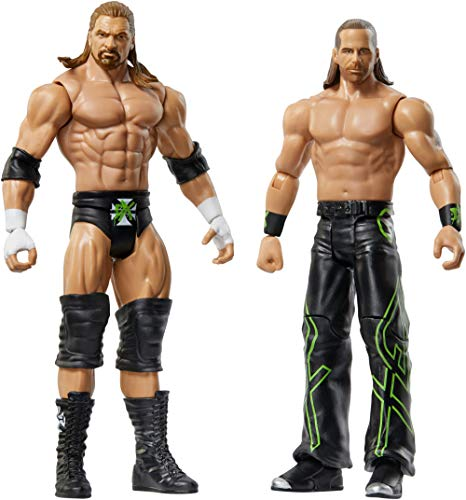 WWE Triple H & Shawn Michaels Figures, 2 pack