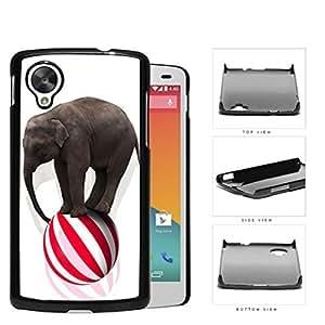 Circus Elephant Balancing On Ball Hard Plastic Snap On Cell Phone Case LG Nexus 5