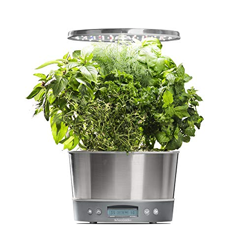 $129.97 AeroGarden Harvest Elite 360 – Stainless Steel 2019