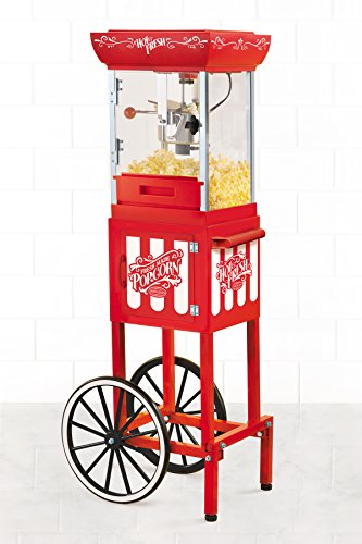 082677136060 - Nostalgia CCP399 48-Inch Tall Vintage Collection 2.5-Ounce Kettle Popcorn Cart carousel main 1