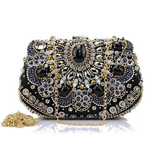 de Strass 18x13cm Luxe Femme Main Parti Jours de Diamants Et de fériés d'autres Pochette Sacs soirée à A soirée Incrusté A 7x5inch Sac Bal Yww1qCd