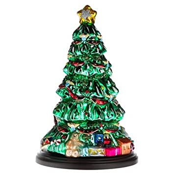Thomas Pacconi Hand Painted Glass 16-Inch Christmas Tree - Amazon.com: Thomas Pacconi Hand Painted Glass 16-Inch Christmas Tree