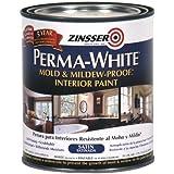 RUST-OLEUM 02704 Bathroom Paint, White Satin