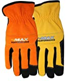 Synthetic Leather Palm Spandex Back High Performance Gloves, MX450, Size: Large