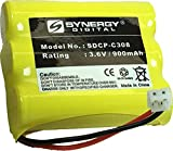 SDCP-C308 - Ni-CD, 3.6 Volt, 900 mAh, Ultra Hi-Capacity Battery - Replacement Battery for AT&T, Panasonic, VTech 80-5071-00-00, RadioShack 23-298 Cordless Phone Batteries