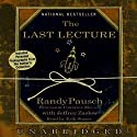 The Last Lecture Audiobook by Randy Pausch, Jeffrey Zaslow Narrated by Erik Singer, Randy Pausch