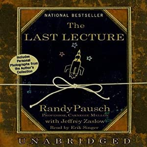 The Last Lecture Audiobook