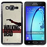 // PHONE CASE GIFT // Fashion Hard Case PC Cover Stylish Protective Case for Samsung Galaxy On5 O5 / The Walking Zombies /