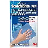 3M 高機能ワイピングクロス No.5000(ステンレス・ガラス用)青 【商品コード】7385700