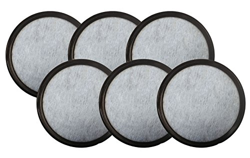 Mr Coffee Blendin 6 Pack Charcoal Water Filter Discs,Fits...