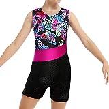 Gymnastics Leotards for Girls with Shorts 9-10