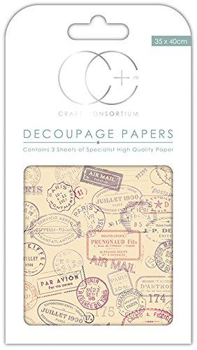 abeja Script Craft consorcio papel para Decoupage diseño de Premium