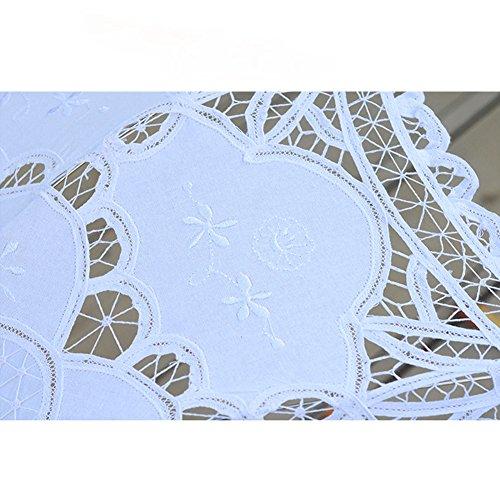 TBNA Bridal Lace Umbrellas Wedding Umbrella Bridal Parasol Umbrella for Bride Bridesmaid by TBNA Bridal (Image #5)