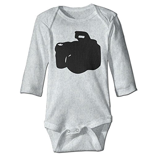 Baby Girl Boy Clothes DSLR Camera -2 Bodysuit Romper Jumpsuit Outfits Baby One Piece Long Sleeve - Dslr Outfit