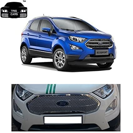 Trigcars Ford Ecosport Car Front Grill Chrome Plated Free Gift Car Bluetooth