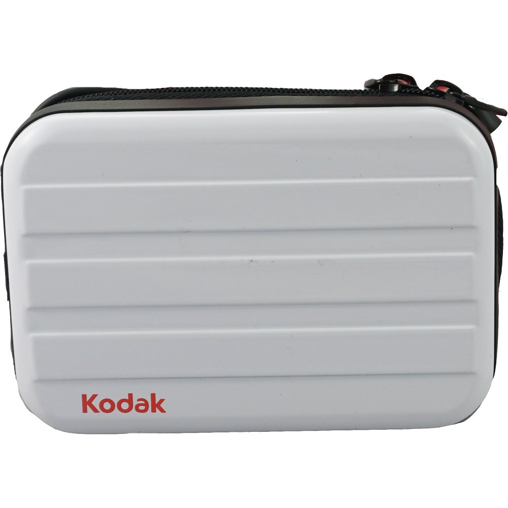 KODAK C4102 Universal Metal Case for Digital Cameras, MP3 Players, Cell Phones, iPods and Other Portable Devices, White by Kodak