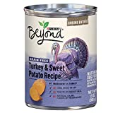Purina Beyond Grain Free Natural, Turkey & Sweet Potato Recipe Ground Entree Canned Dog Food, 13 oz, case of 12