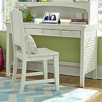 Neopolitan 48' W Writing Desk Finish: Bright White