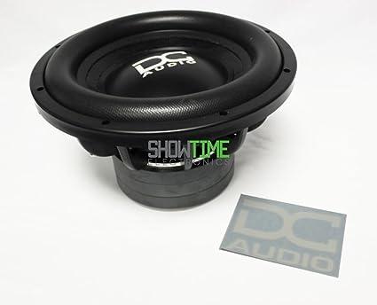 """DC AUDIO Level 3 10/"""" 2 ohm Dual Voice Coil Subwoofer 900//1800 Watt NEW"""