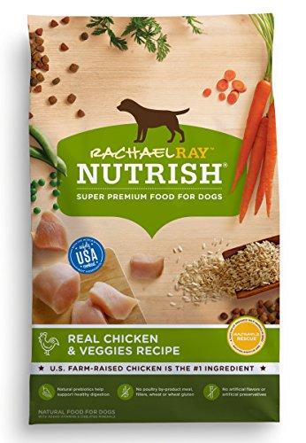 Rachael Ray Nutrish Natural Dry Dog Food, Chicken & Veggies Recipe, 40 lb