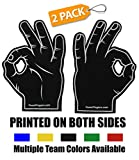 Foam Hand Fingers for Sports - Fans Tailgating Parties - Frat Parties Basketball Football Baseball College Hockey Cheering - 3 Point Goggle Okay Sign Circle Game Ballgazer Ballbuster