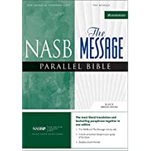 NASB, The Message, Parallel Bible, Bonded Leather, Black