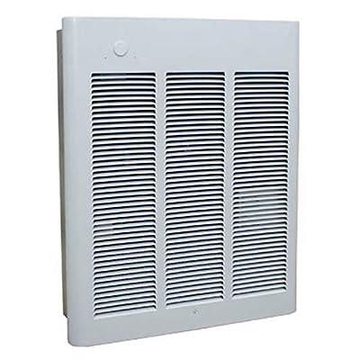 Berko Commercial Fan-Forced Wall Heater, 4000/3000W, 240/208V
