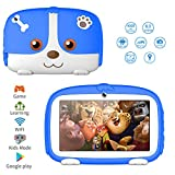 Kids Tablets,7inch HD Touch Screen Kids Tablet for Kids 1G+8G Android Tablet Quad Core Kids Tablets with WiFi, Parental Control, 40+ Learning,Training Games APPs, Protect Kids Eyes