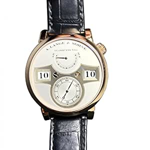 A. Lange & Sohne Zeitwerk automatic-self-wind mens Watch (Certified Pre-owned)