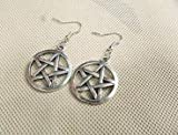 Supernatural Inspiron,pentagram Supernatural Pentacle Earrings Antique Steampunk Gift