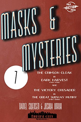 Masks & Mysteries #7 (Man Of Mystery Mask)