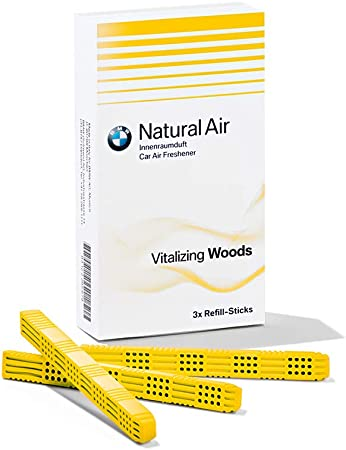Bmw Original Refill Kit Natural Air Interior Fragrance Vitalizing Woods Auto