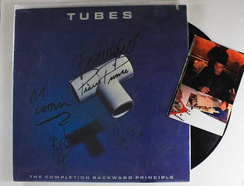 Autographed Record - The Tubes Group Signed Autographed