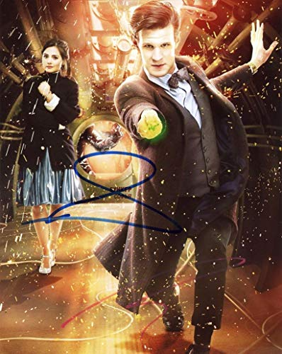 - MATT SMITH & JENNA COLEMAN - Doctor Who.AUTOGRAPHS Signed 8x10 Photo