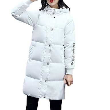 Ouneed Abrigo de Mujer, Moda Mujer Invierno Ultra cálido más Grueso Encapuchado Chaqueta de Abrigo