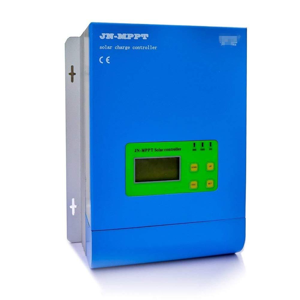 ソーラーコントローラー ソーラー充電コントローラ MPPT充電 12V / 24V / 48V バッテリ充電 レギュレータ LCDディスプレイ付 30A-60A ソーラーパネルバッテリレギュレータ (Color : 60A) B07PWBPKXD