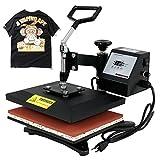 F2C 12'' X 10'' Digital Swing Away Heat Press Transfer T-shirt Sublimation Machine