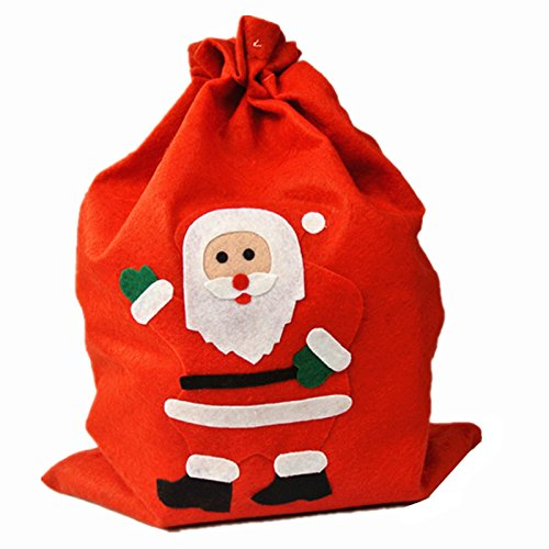 UNIQOOO Red Xmas Christmas Santa Claus Holiday Present Gift (Celebrate Express Costumes)
