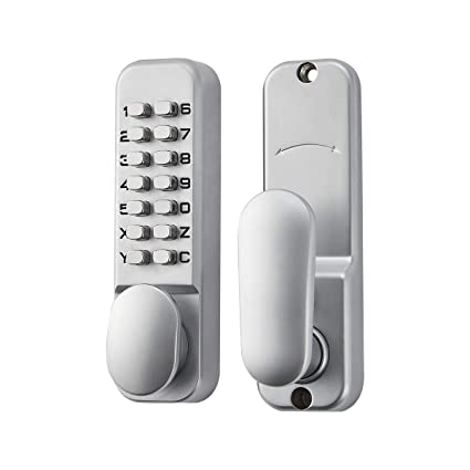 Keyless Door Entry >> Loctory Mechanical Keyless Door Combo Lock Right Handed Keypad Digital Code Safety Entry Gate Home Storage Not Deadbolt 2 3 8 60mm Latch