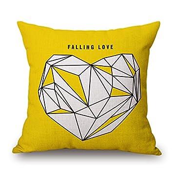 Elliot _ tejo amarillo Simple Hug funda de almohada almohada ...