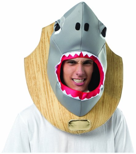 Rasta Imposta Men's Shark Trophy Head, Multi, One Size (Trophy Costume)