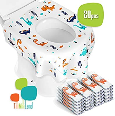 Super Toilet Seat Covers Disposable 20 Pack Individually Wrapped Large Size Perfect For Travel Home Use Potty Training Kids And Adults Pdpeps Interior Chair Design Pdpepsorg